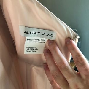 ALFRED SUNG Dresses - Floor length Alfred Sung dress.